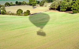 Hot air ballon Stock Photos