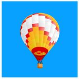 Hot air ballon 4 Royalty Free Stock Image