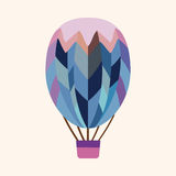 Hot air ballon design elements vector Stock Photo