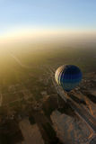 Hot air ballon in Egypt Royalty Free Stock Image