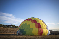 Hot air ballon Stock Photos
