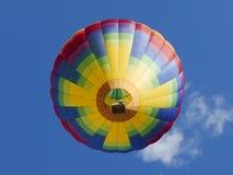 Hot Air Ballon. The peaceful beauty of a Hot Air Balloon over Vermont Stock Photo