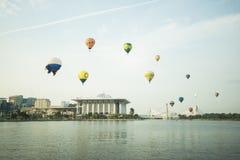 Hot air ballon at putrajaya Stock Photo