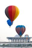 Hot air ballon at Putrajaya, Malaysia Royalty Free Stock Images