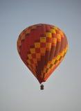 Hot air ballon in the sky. Hot air ballon high in the sky, Kapadokya Turkey stock photo