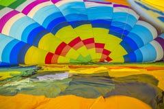 Hot air ballon Stock Image