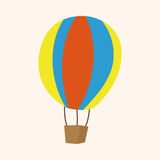 Hot air ballon theme elements vector,eps Royalty Free Stock Images