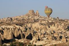 Hot Air Ballons. In Cappadocia,Turkey Central Anatolia Cappadocia the world and a miraculous nature wonder stock photo