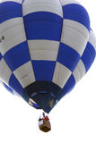 Hot Air Balloon 003. At a festival Stock Images