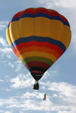 Hot Air Balloon 03. Hot Air Balloon up in the sky Stock Images
