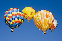 Hot Air Balloon 0733 Stock Photo