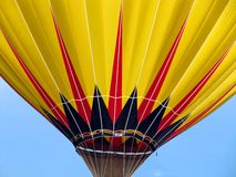 Hot Air Balloon. Close up of a hot air balloon taking off in Grove City, Ohio Stock Image