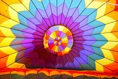 Hot Air Balloon. Colorful Textile Of Hot Air Balloon royalty free stock photography