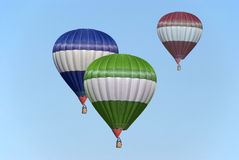 Hot-air balloon Stock Image