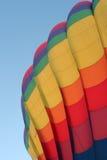 Hot air balloon. Beautiful hot air balloon at the festival Stock Image