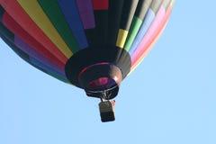 Hot air balloon. A hot air balloon going for a ride Stock Image