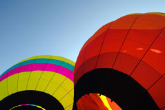 Hot Air Balloon. Picture of colorful hot air balloons on a summer day Royalty Free Stock Images