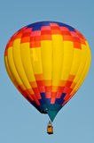 Hot Air Balloon. With Blue Sky Background Stock Photos