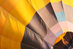 Hot air balloon. Close-up a hot air balloon Stock Photos