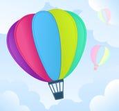 Hot air balloon Royalty Free Stock Photography