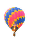 Hot air balloon. A colorful hot air balloon Stock Image