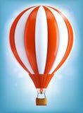 Hot air balloon. Illustration of Hot air balloon Stock Image