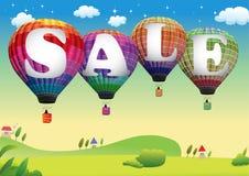 Hot air balloon. Eps vector hot air balloon sale Stock Image
