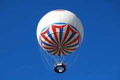 Hot air balloon. Bournemouth Eye balloon on clear sunny day Stock Photography