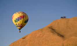 Hot Air Balloon. Royalty Free Stock Images