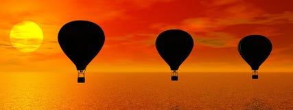 Hot-air Balloon Stock Photos