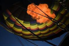 Hot Air Balloon. Hot air rises and thats a good thing Stock Image