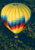 Hot air balloon. From air Stock Photo