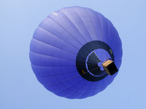 Hot air balloon. Take off stock images