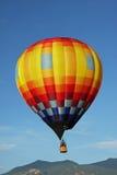 Hot air balloon. And mountain Royalty Free Stock Photos