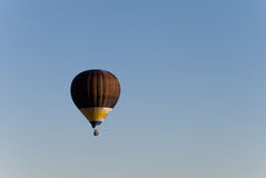 Hot Air Balloon. In blue sky Royalty Free Stock Photo