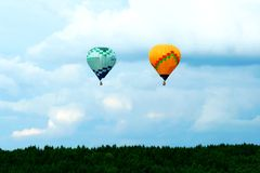 Hot-air balloon Stock Photo