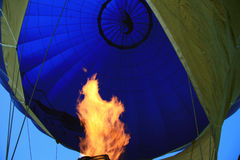 Hot air balloon. Travel in Russia. Hot air balloon Royalty Free Stock Images