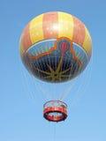 Hot Air Balloon. A Hot Air Balloon up in the sky Stock Photos