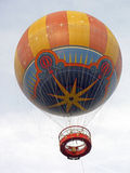 Hot Air Balloon. A Hot Air Balloon ride up in the sky Royalty Free Stock Photo