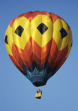 Hot Air Balloon. A Colorful Hot Air Balloon Royalty Free Stock Images