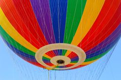 Hot air balloon. Festival,The colors on the fabric of a Stock Photo