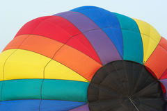 Hot air balloon. Close-up of hot air balloon Stock Photography