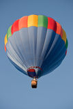Hot air balloon above Royalty Free Stock Photography