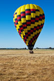 From hot air balloon above the valley Stock Images