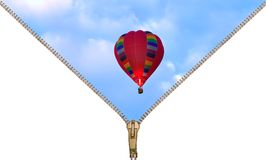Hot air Balloon adventure Royalty Free Stock Photography