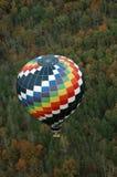 Hot Air Balloon. Adventure in Central Virginia over the Blue Ridge Mountains Royalty Free Stock Photos