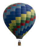 Hot Air Balloon Against White Stock Image