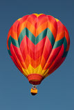 Hot Air Balloon Aloft 2 Royalty Free Stock Images