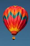 Hot Air Balloon Aloft 2 Royalty Free Stock Images