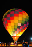 Hot Air Balloon At Night. Stock Images